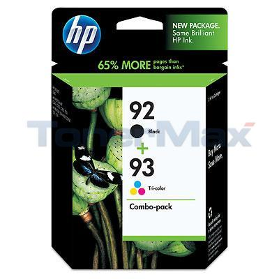 HP NO 92 93 INK CART CMYK COMBO PACK
